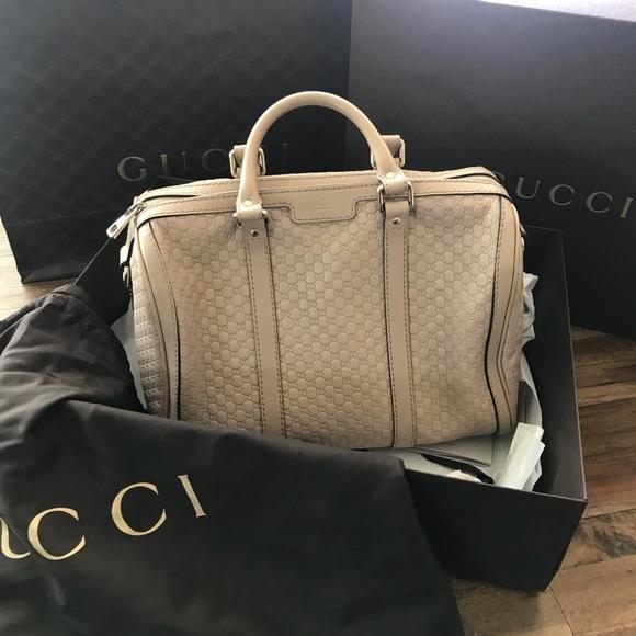 fe1be5d8dfe5 Gucci Bags | Limited Edition Microssima Boston Bag | Poshmark